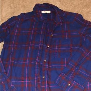 Flannel from Hollister, barely used